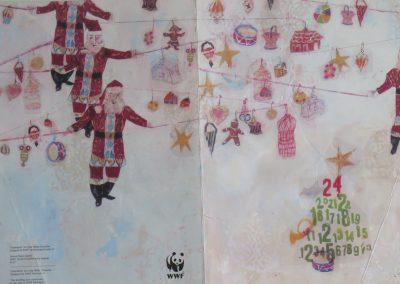 WWF christmas card